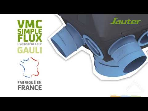 Découvrir La Vmc Simple Flux Hygroréglable Gauli Sauter