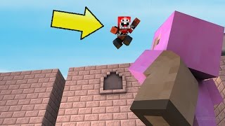 EXPLODINGTNT vs PINK SHEEP (Minecraft Parkour Race)