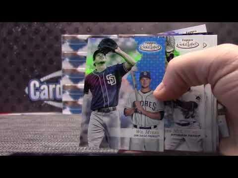 "2017 Topps GOLD Label Baseball 16 Box ""Random Team's GB"