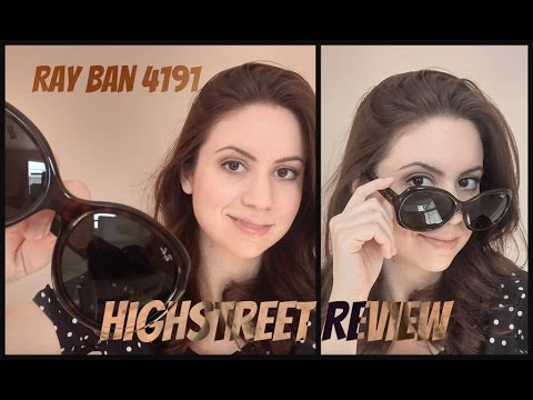 a15376bc0f Ray-Ban 4191 Review + I finally kept it under 5 mins - YouTube