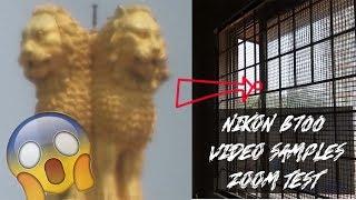 Nikon B700 Video Samples-Zoom test, Slow motion test.