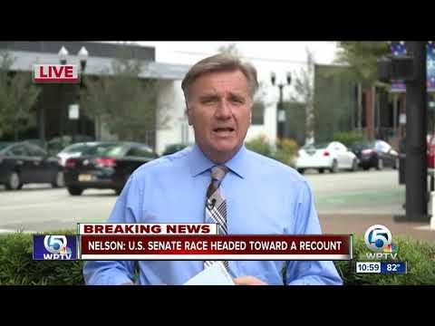 Sen. Bill Nelson say Florida Senate race headed to recount
