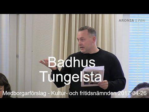 2017-04-26 Haninge Kultur- och fritidsnämnd - Badhus i Tungelsta