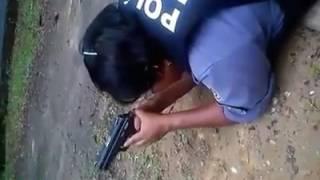 Fail: Gun Recoil Smacks Woman Cop In The Face