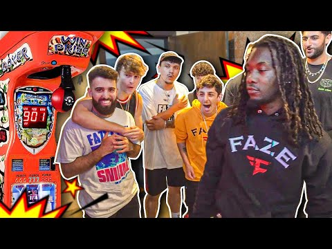 FaZe Clan: Who Can Punch the Hardest Challenge ft. Offset