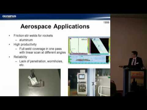 Andre Lamarre: Advanced Nondestructive Testing Techniques: Overview of Phased Array UT