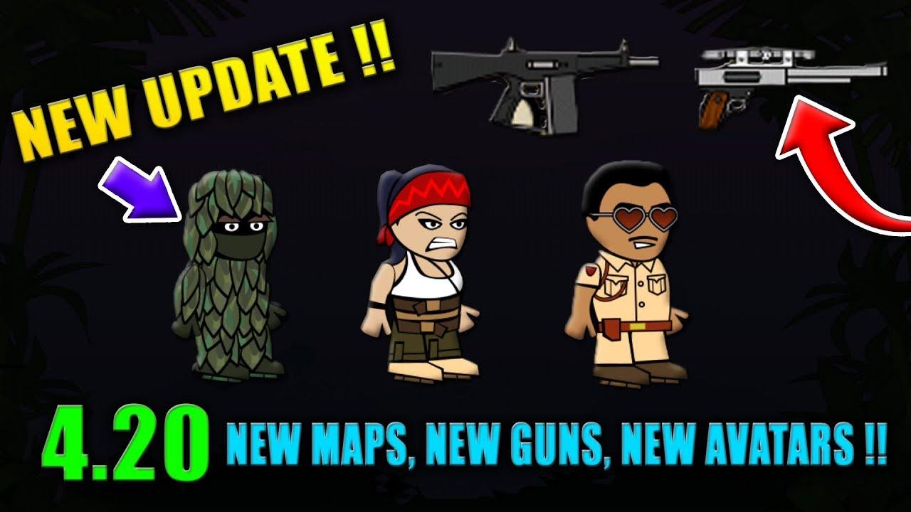 Mini Militia New Update 420 New Guns New Maps New Avatars