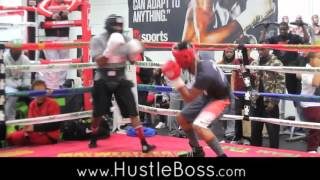 Former champ Demetrius Andrade resurfaces: Fast-paced sparring with undefeated Will Clemons in Vegas
