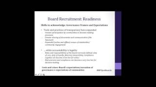 The Completely Revised Guide to Great Board Recruitment (Nonprofit Webinar)