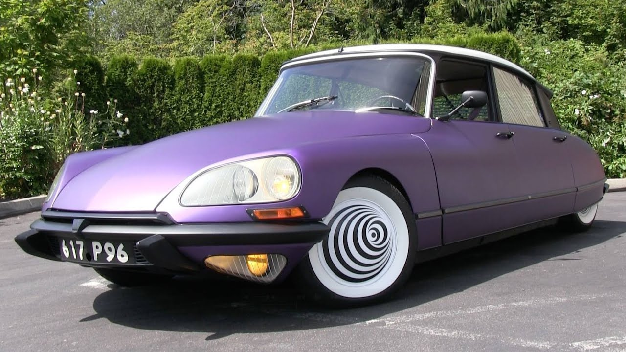 1970 Citroën DS 21 Pallas Start Up, Test Drive, and In Depth Review ...