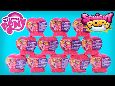 Squishy Pops Toys R Us : My Little Pony Squishy Pops Series 2! Crystal Ponies! - YouTube