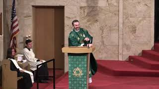 Fr Ryan Homily 18th Sunday in Ordinary Time