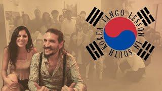 Tango Lesson in Korea - Gisela Vidal & Ariel Yanovsky