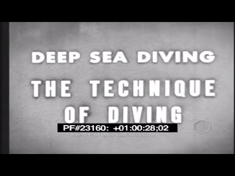 The World of the Sea - Deep Sea Diving 23160