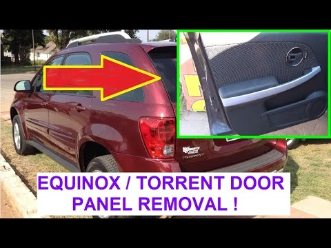 hqdefault front door panel removal and replacement on chevrolet equinox or 2008 equinox door wiring harness at gsmx.co
