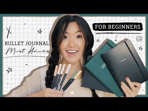 Bullet Journal For Beginners - Which Notebook + Must Haves