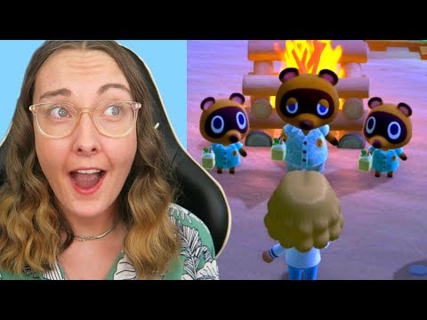 Tom Nook Is My Leader?! I Didn't Sign Up For This - Animal Crossing 1