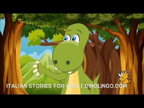 Dino Lingo - Italian For Kids - Ciao = Hello | Italian stories and books for kids
