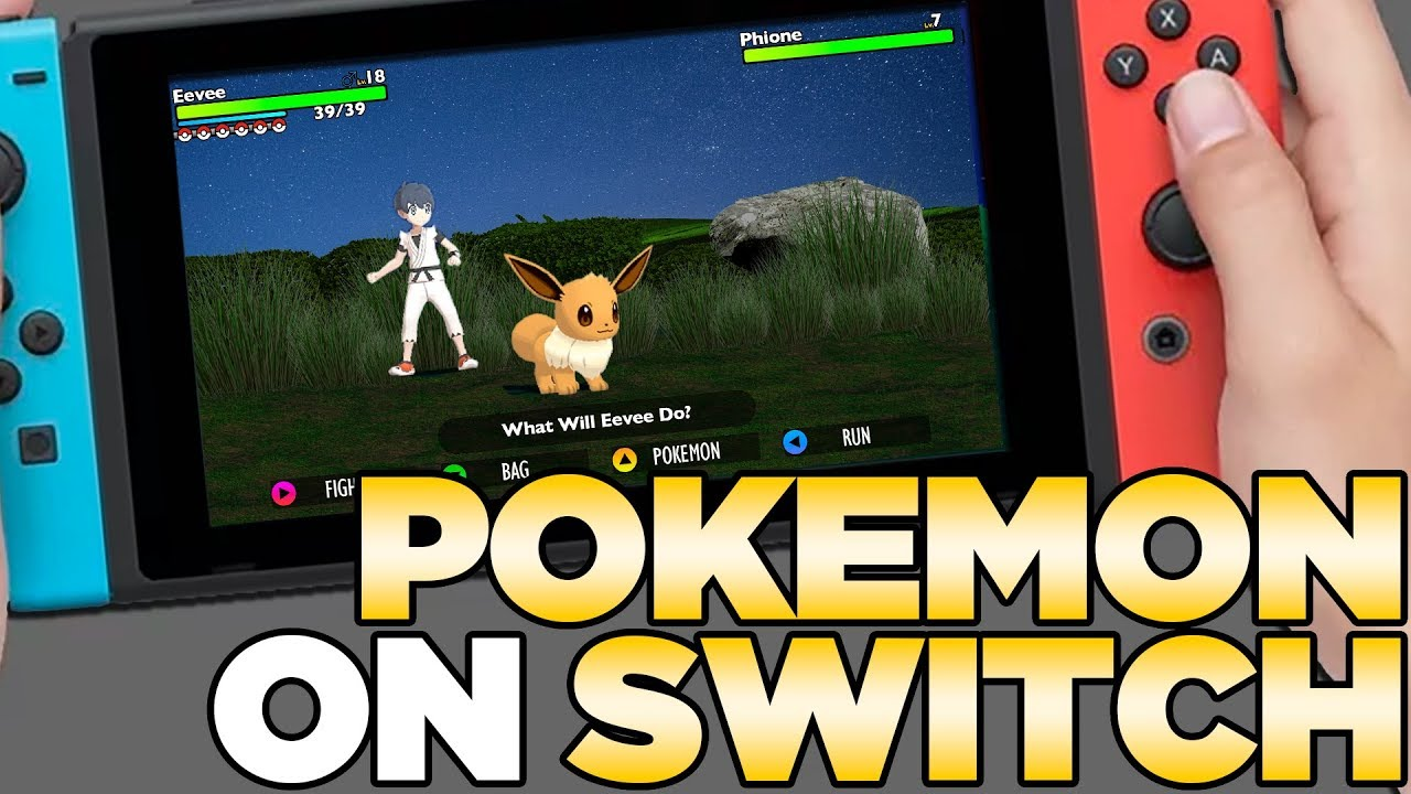 What Pokemon On Nintendo Switch Could Look Like Austin