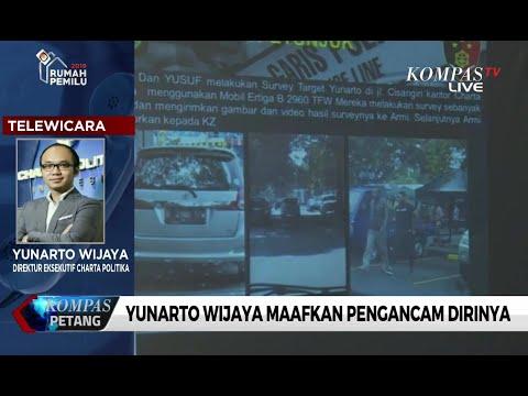 Yunarto Wijaya Maafkan Pengancam Dirinya