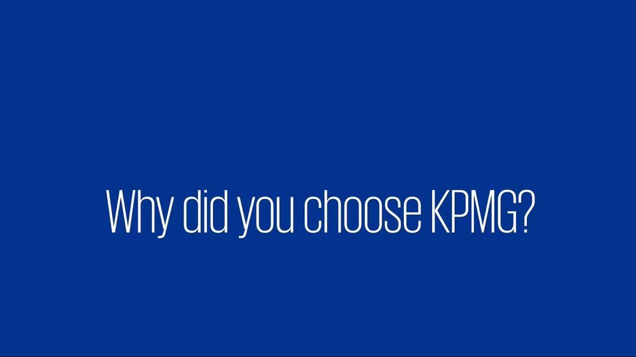 Grad Q&A: Why did you choose KPMG?