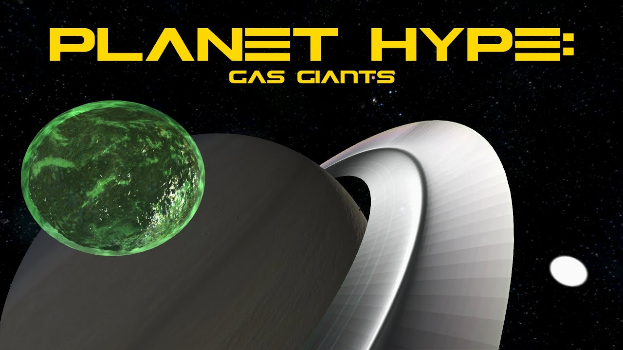 Space Engineers Planet Hype: Gas Giants - YouTube