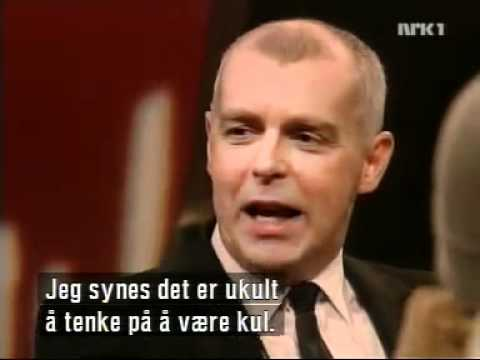 Pet Shop Boys - Interview at Forst & Sist. NRK1 2004