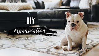 DIY Dog Organization + Bullymake Unboxing