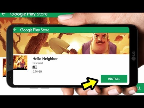 How To Download Hello Neighbor On Android Device | Offline | Apk+obb | Proof With Gameplay