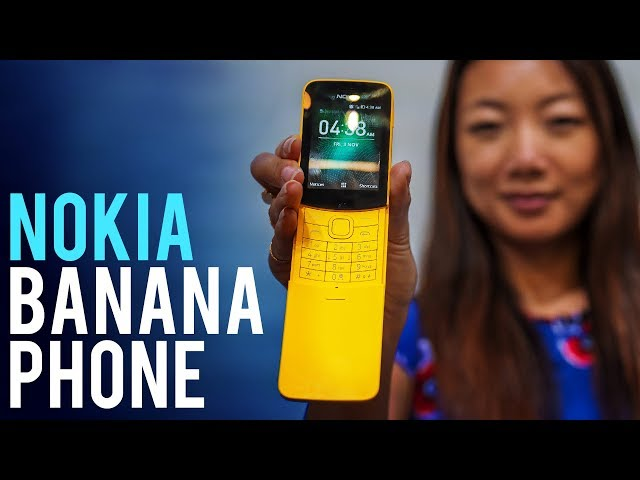Nokia Banana Phone Hands-On At Mobile World Congress