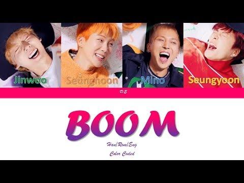 "WINNER-""BOOM""-Lyrics[Color Coded Lyrics Han/Rom/Eng]"