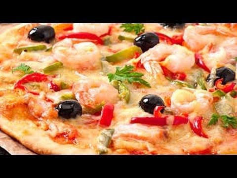 pizza-fruit-de-mer-بيتزا-فواكه-البحر-سهلة-و-سريعة