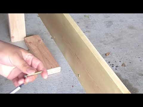 DIY Twin Bed Build