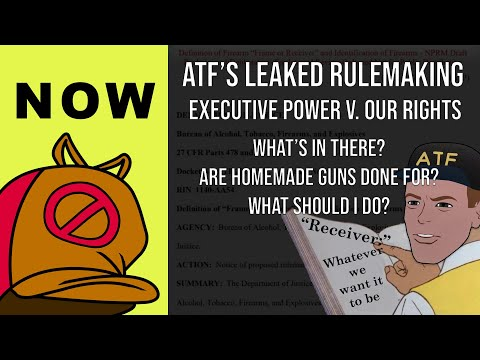 NOW: The Leaked ATF Biden Rulemaking - Is 80% Gun Building Dead? What is a Receiver? Can we stop it?