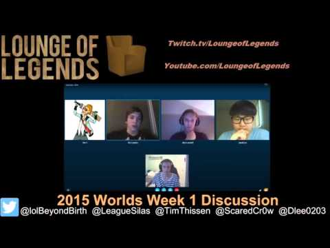 Lounge of Legends Esports Episode 3 :Worlds Group stage Review