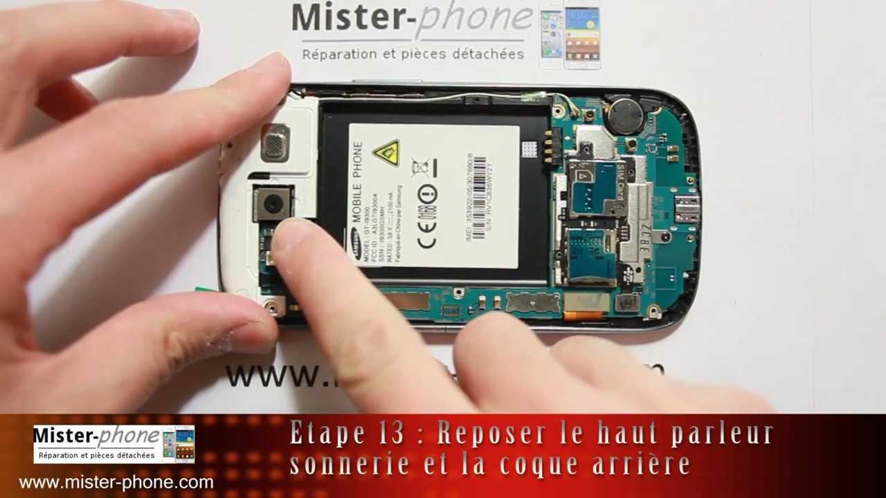 Samsung Galaxy S3 i9300 i9305 changer ecran LCD vitre tactile Tutoriel HD 1080p