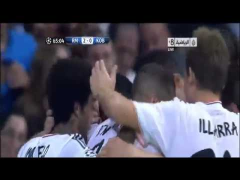 Real Madrid vs FC Copenhagen 4 - 0 All Goals & Full Match Highlights 02.10.2013