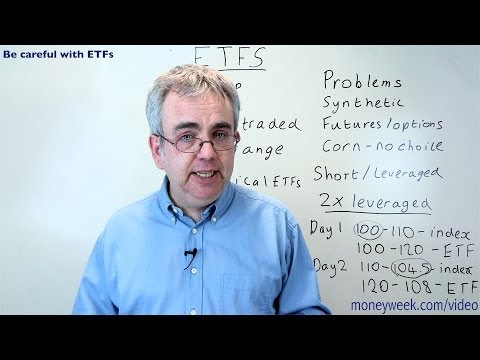 Be careful of ETFs - MoneyWeek Videos
