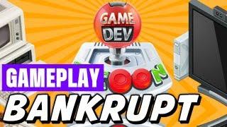 Game Dev Tycoon Gameplay Walkthrough  -  Bankrupt!   Fail