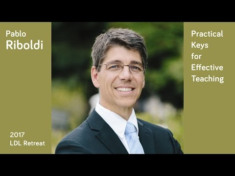 Practical Keys for Effective Teaching at Home, Church, and School (Dr. Pablo Riboldi)