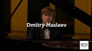 Dmitry Masleev i el Concert per a piano de Txaikovski, al Palau de la Música