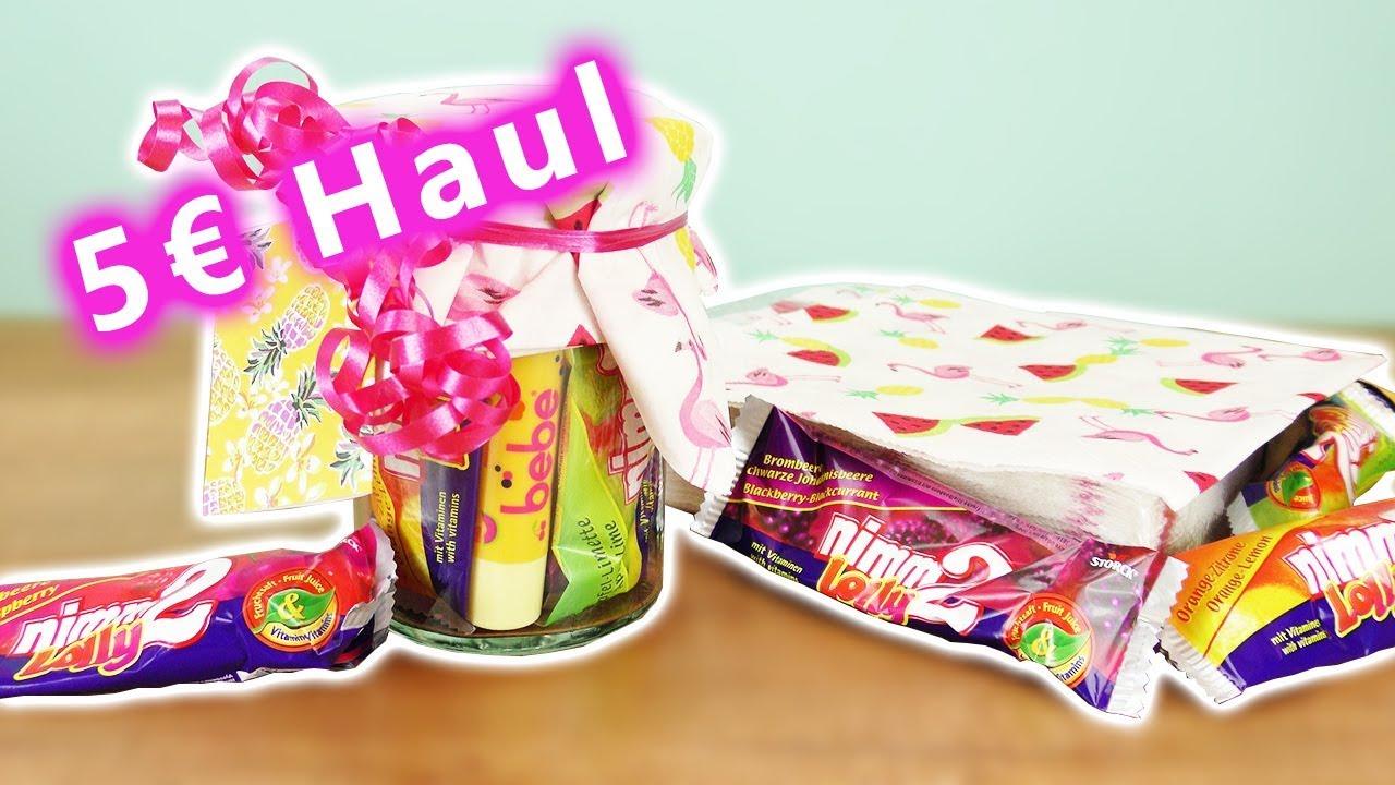 Diy Inspiration Challenge 126 5 Euro Haul Süßes Geschenk Für