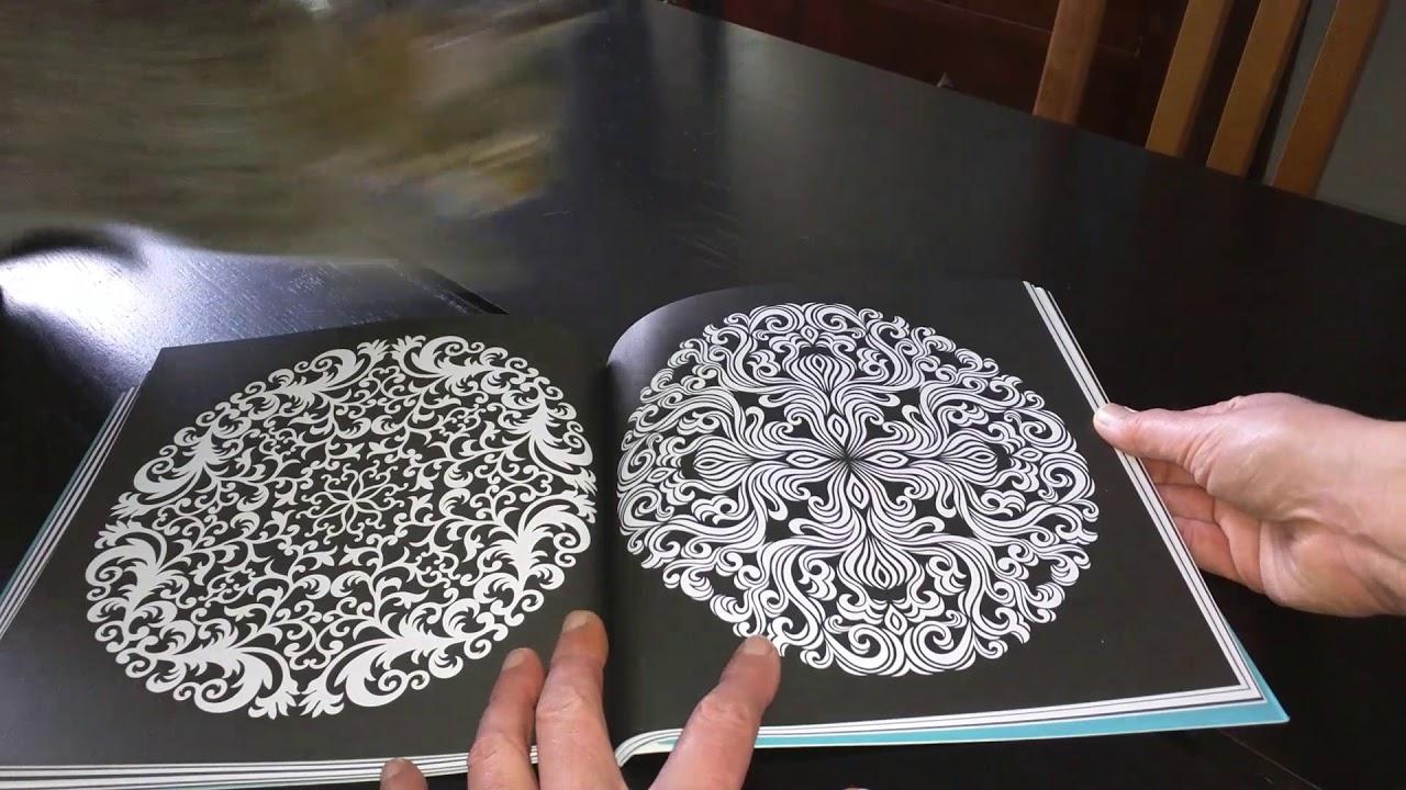 Livre de Coloriage anti stress adulte L art du Coloriage mandalas