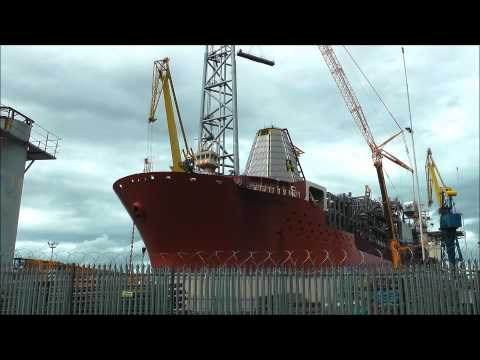 SEAROSE FPSO IN BELFAST.