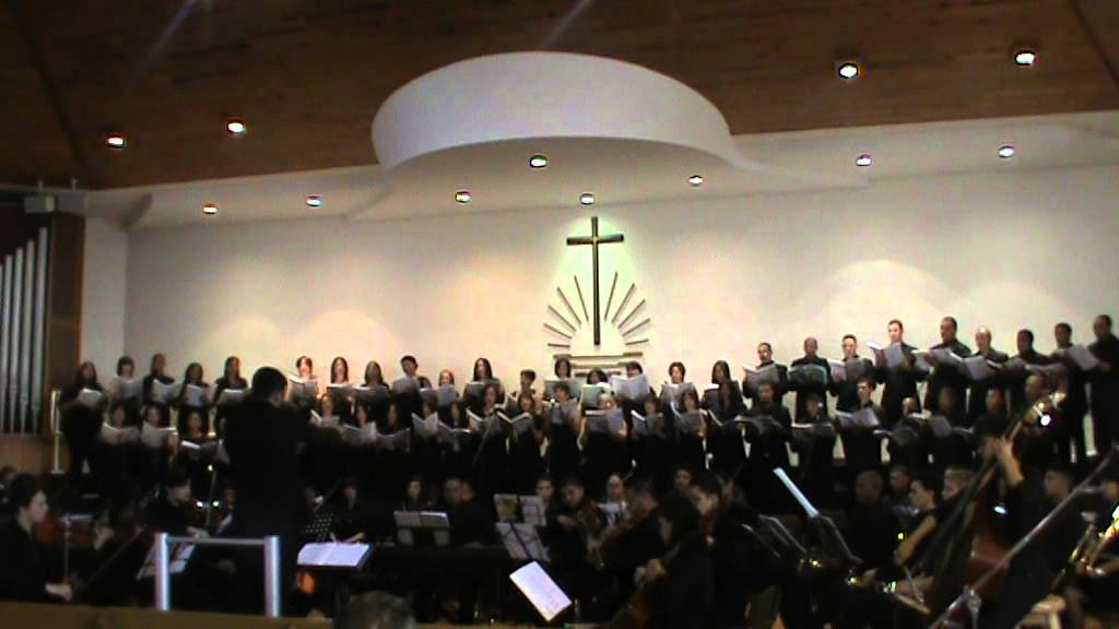 Give Me Thy Heart Port Elizabeth New Apostolic Church Choir And Orchestra Youtube
