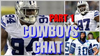 """COWBOYS CHAT - PART 1: Randy Gregory & Terrell McClain Updates; """"Personnel Package"""" Explanation..."""