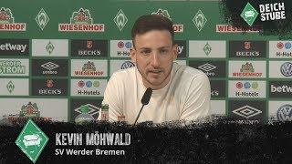 Werder-Neuzugang Kevin Möhwald stellt sich vor