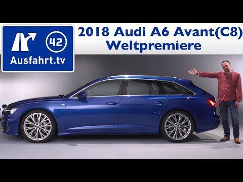 2018 Audi A6 Avant (C8) - Weltpremiere, Sitzprobe