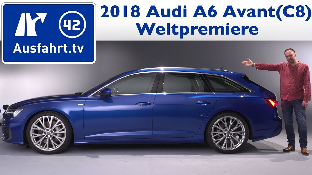 2018 audi a6 avant c8 weltpremiere sitzprobe youtube. Black Bedroom Furniture Sets. Home Design Ideas