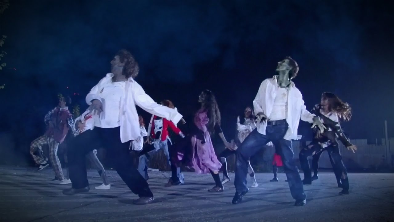 The Michael Jackson's Thriller Dance TRIBUTE 2014 - YouTube Michael Jackson Thriller Video Dance